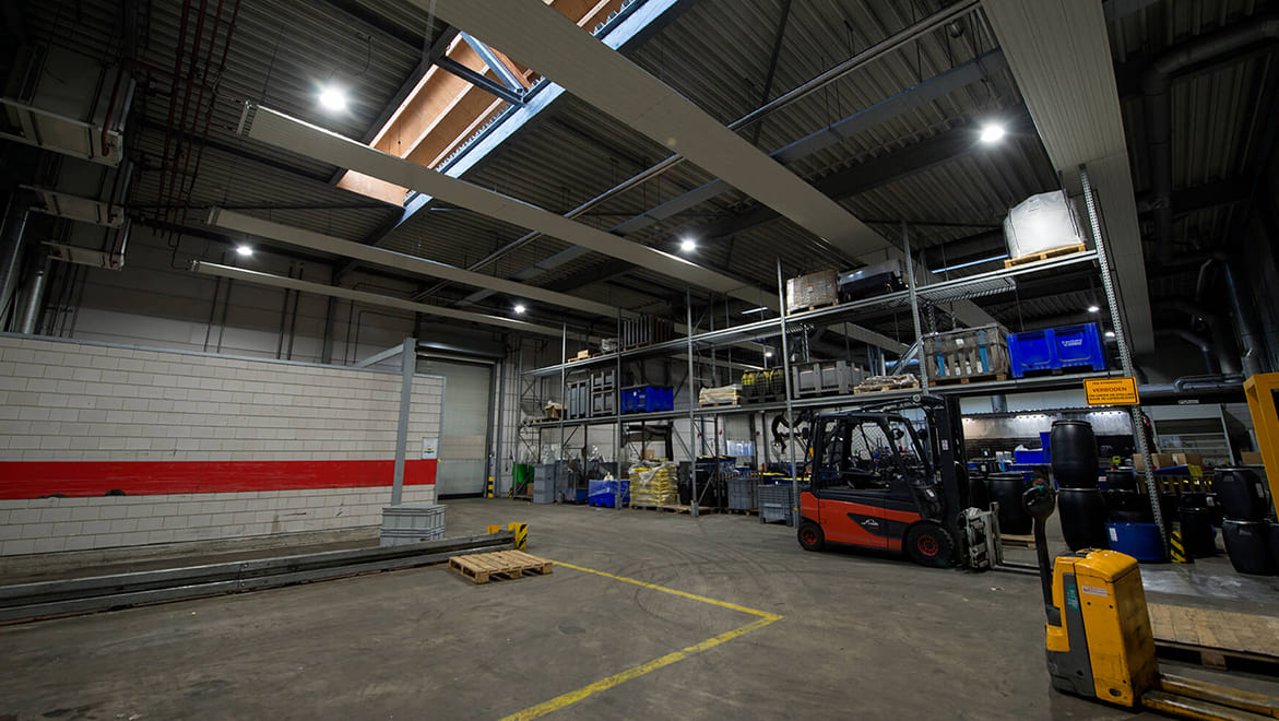 Afvalstoffendienst Recycling plant